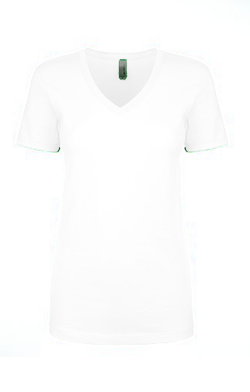 Next Level Ladies 4.0 Ounce Ideal V-Neck T-Shirt